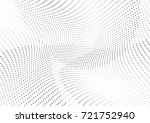 abstract halftone wave dotted... | Shutterstock .eps vector #721752940