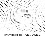 abstract halftone wave dotted... | Shutterstock .eps vector #721760218
