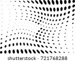 abstract halftone wave dotted... | Shutterstock .eps vector #721768288