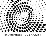 abstract halftone wave dotted... | Shutterstock .eps vector #721772254