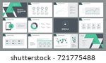 page layout design template for ... | Shutterstock .eps vector #721775488