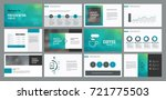 page layout design template for ... | Shutterstock .eps vector #721775503