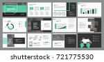page layout design template for ... | Shutterstock .eps vector #721775530