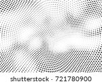 abstract halftone wave dotted... | Shutterstock .eps vector #721780900