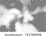 abstract halftone wave dotted... | Shutterstock .eps vector #721780948
