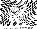 abstract halftone wave dotted... | Shutterstock .eps vector #721785238