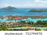 Small photo of Eden Island aerial view, Mahe - Seychelles.