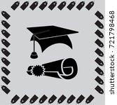 education license vector icon | Shutterstock .eps vector #721798468