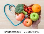 cholesterol diet  diabetes... | Shutterstock . vector #721804543