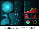 abstract future technology...   Shutterstock .eps vector #721810066