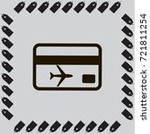 ticket vector icon | Shutterstock .eps vector #721811254