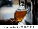 draft beer pour | Shutterstock . vector #721831114