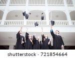 education graduation student... | Shutterstock . vector #721854664