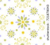 seamless tiling vector texture... | Shutterstock .eps vector #721878043
