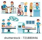 Medical Patient And Doctors In...