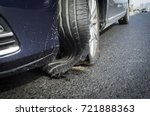 Damaged Tire After Tire...