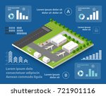 infographics of transportation... | Shutterstock .eps vector #721901116