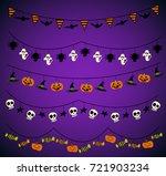 halloween  background. | Shutterstock .eps vector #721903234