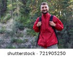 close up shot of smiling... | Shutterstock . vector #721905250