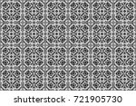 abstract vintage pattern with... | Shutterstock . vector #721905730