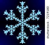 snowflake   Shutterstock .eps vector #7219180