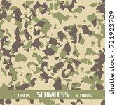 seamless vector desert... | Shutterstock .eps vector #721923709