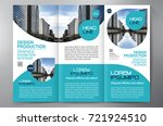 business brochure. flyer design.... | Shutterstock .eps vector #721924510