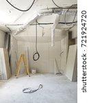 interior work in progress | Shutterstock . vector #721924720