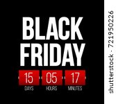 abstract vector black friday...   Shutterstock .eps vector #721950226