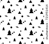 geometric seamless pattern in... | Shutterstock .eps vector #721951414