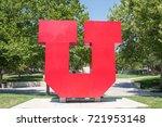 salt lake city  utah  august 1  ... | Shutterstock . vector #721953148