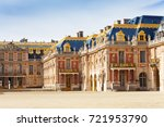 marble courtyard at palace of... | Shutterstock . vector #721953790