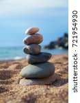stones balance and wellness... | Shutterstock . vector #721954930