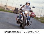 front view at the moving... | Shutterstock . vector #721960714