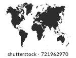 world map | Shutterstock .eps vector #721962970