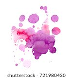 colorful abstract watercolor... | Shutterstock .eps vector #721980430