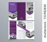 brochure design  brochure... | Shutterstock .eps vector #721982830