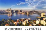 major sydney city landmarks  | Shutterstock . vector #721987588