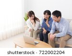 asian family | Shutterstock . vector #722002204