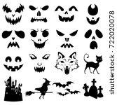 a vector illustration of... | Shutterstock .eps vector #722020078