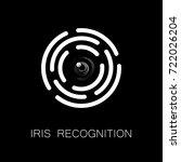 iris recognition or retina...   Shutterstock .eps vector #722026204