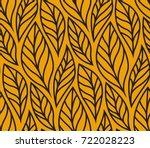 vector illustration of leaves... | Shutterstock .eps vector #722028223