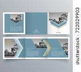 brochure design  brochure... | Shutterstock .eps vector #722029903