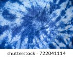 Pattern Of Blue Tie Batik Dye...