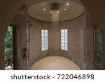 modern luxury shower design in... | Shutterstock . vector #722046898
