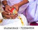 pooja coconut | Shutterstock . vector #722064904
