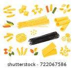 italian cuisine. set of... | Shutterstock .eps vector #722067586
