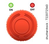 breaker switch buttons vector