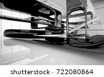 abstract dynamic interior with...   Shutterstock . vector #722080864