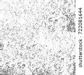vector halftone black and white....   Shutterstock .eps vector #722081644